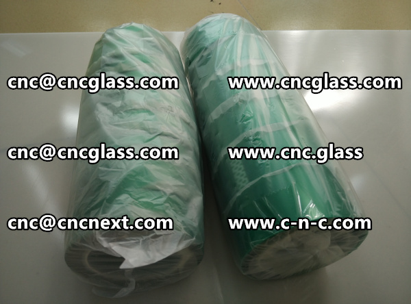 Polyester(PET) film backing with a silicone adhesive GREEN TAPE (4)