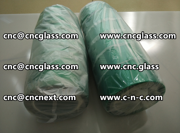 Polyester(PET) film backing with a silicone adhesive GREEN TAPE (6)