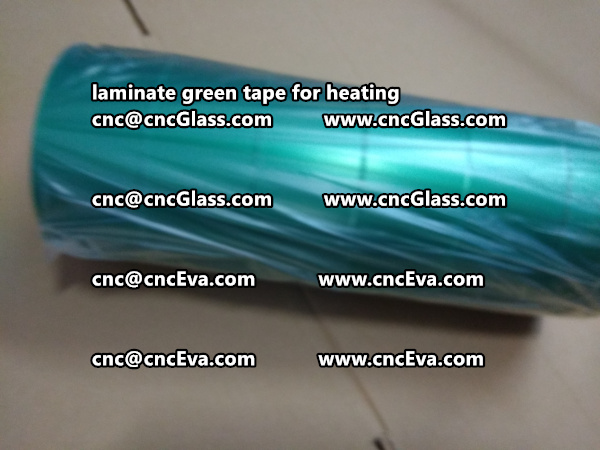 Green Tape 30 and 35mm for laminating (10)