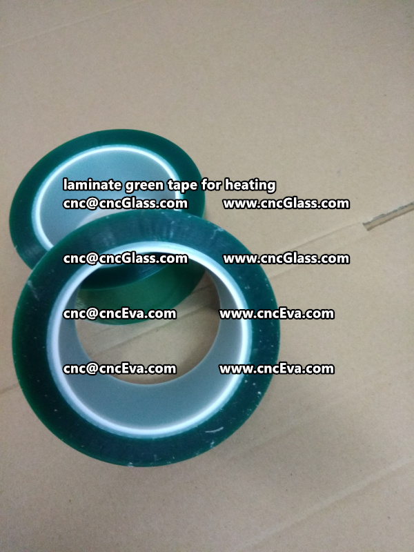 Green Tape 30 and 35mm for laminating (6)
