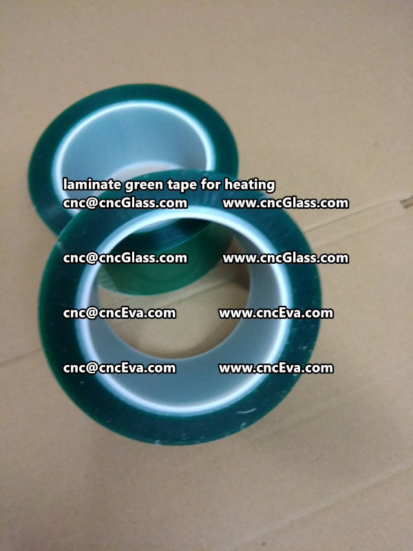 Green Tape 30 and 35mm for laminating (8)