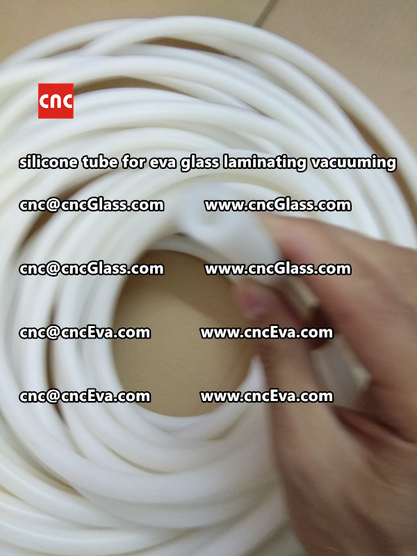 Silicone tube for eva glass laminate vacuuming (4)
