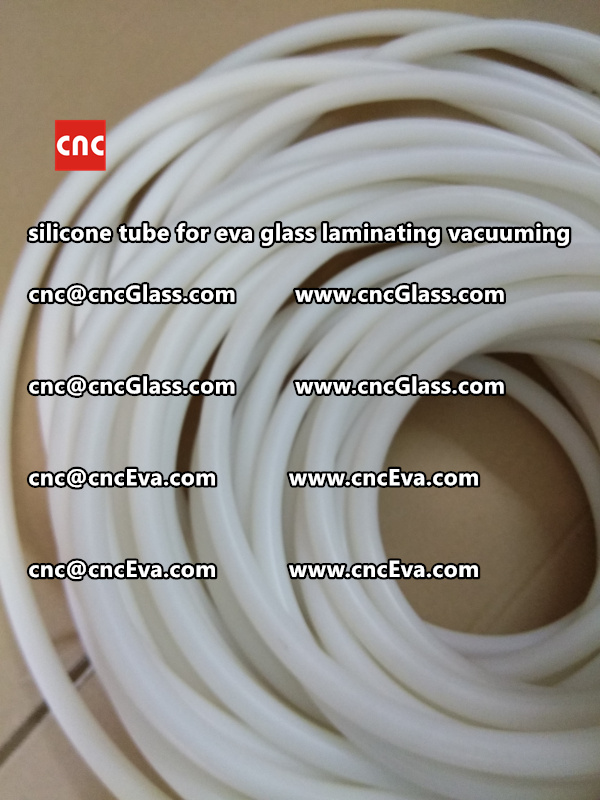 Silicone tube for eva glass laminate vacuuming (5)