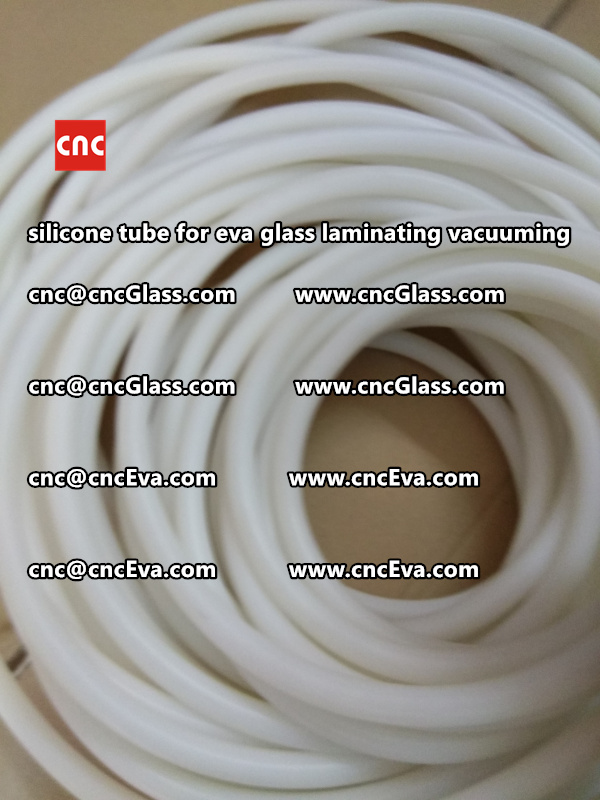 Silicone tube for eva glass laminate vacuuming (6)
