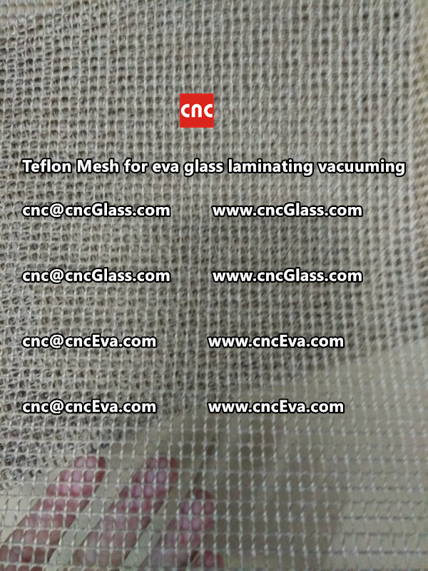 Teflon mesh for eva glass laminate vacuuming (1)
