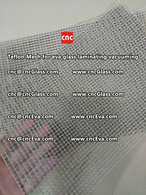 Teflon mesh for eva glass laminate vacuuming (10)