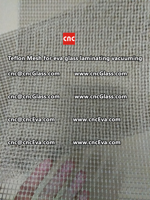 Teflon mesh for eva glass laminate vacuuming (12)