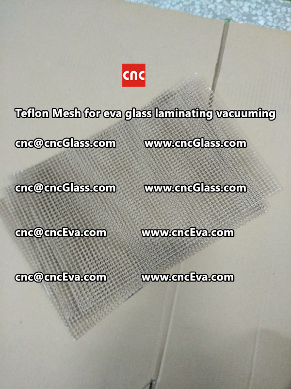 Teflon mesh for eva glass laminate vacuuming (4)