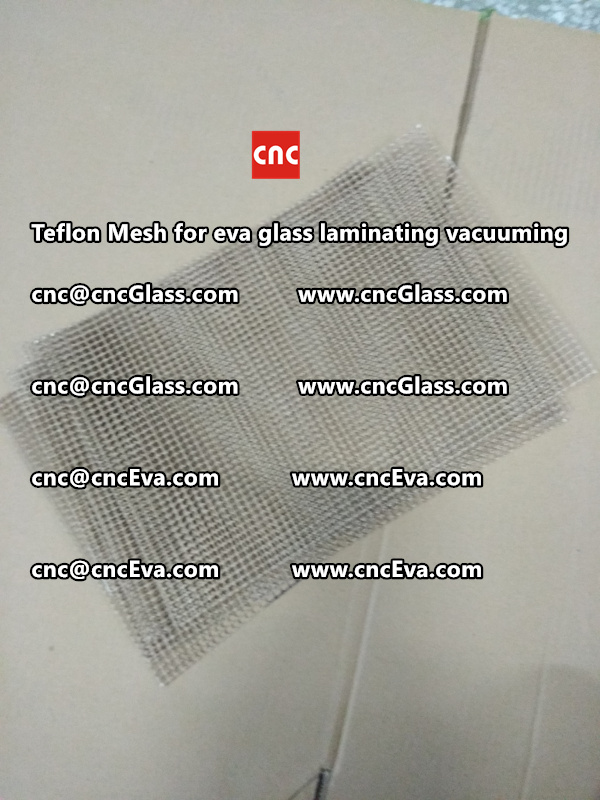 Teflon mesh for eva glass laminate vacuuming (5)