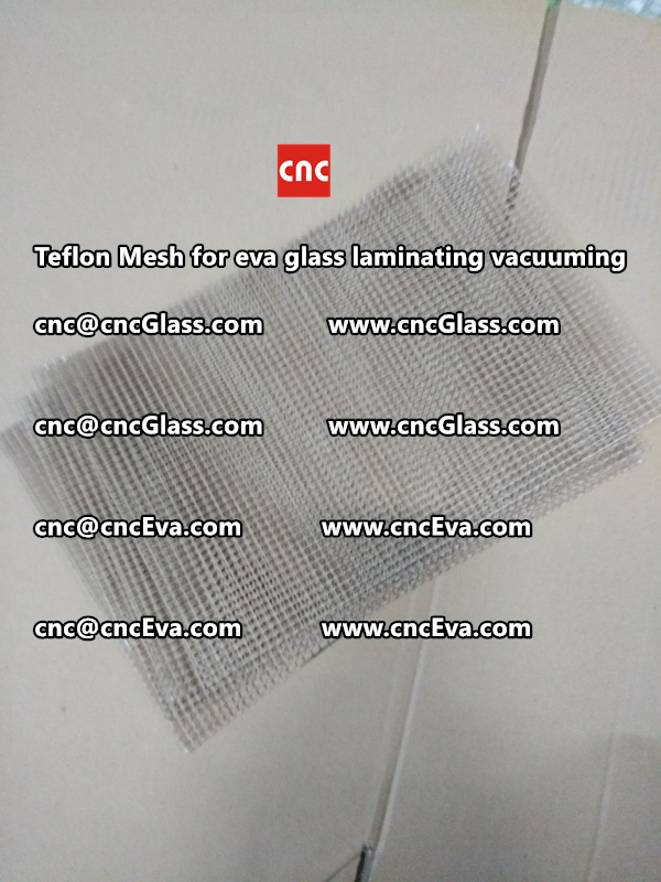 Teflon mesh for eva glass laminate vacuuming (6)