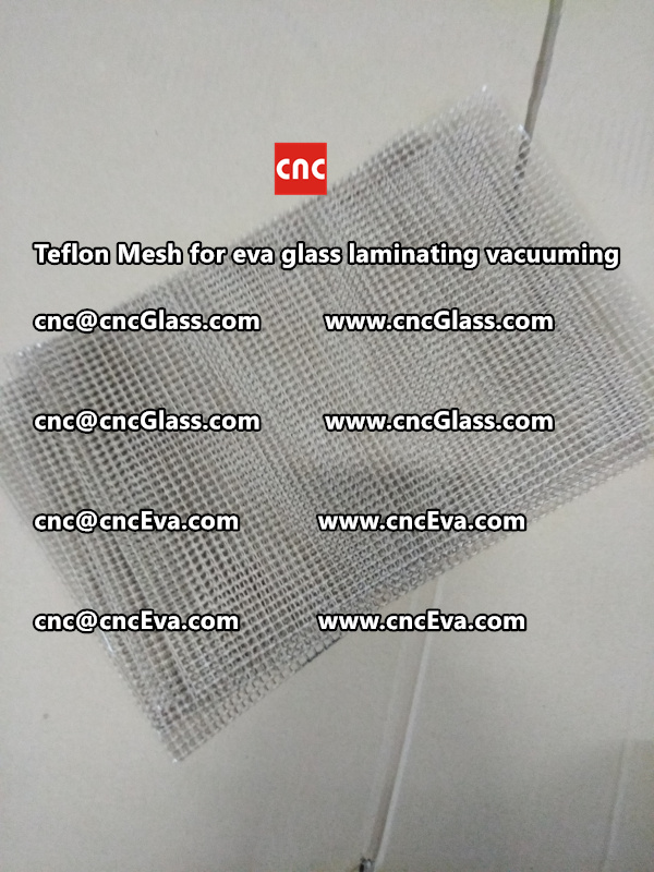 Teflon mesh for eva glass laminate vacuuming (8)